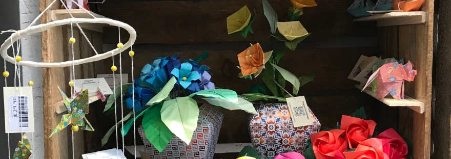 Origami Sunshower box at Fachl